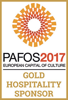 Gold Hospitality Sponsor of the Pafos 2017 Ruropean capital of Culture.